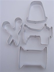 Sewing Themed Cookie Cutters