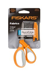 """Razor Edge 5"""" Softgrip Scissors"""