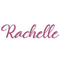 AMD Rachelle embroidery font