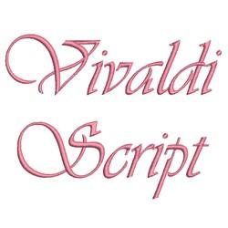 AMD Vivaldi Script embroidery font