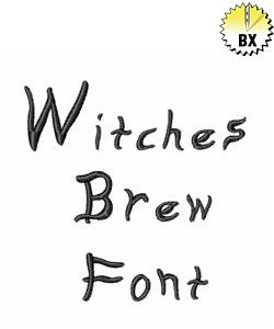 Witches Brew Font by AnnTheGran Embrilliance Fonts on ...