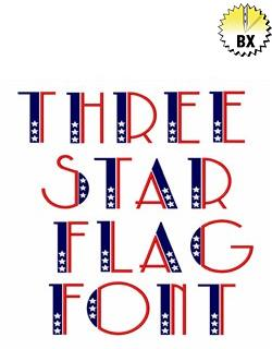 59a745fa2cb Patriotic - Fonts for Machine Embroidery