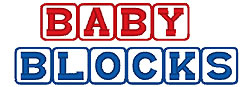 Baby Blocks embroidery font