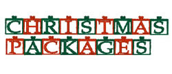 Christmas Pack embroidery font