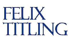 Felix Titling embroidery font