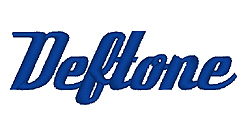 Deftone embroidery font