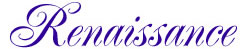 Renaisannce Alphabet embroidery font