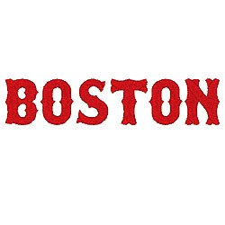boston by fireside threads home format fonts on boston red sox b logo font Boston Red Sox Logo Template