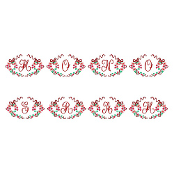 Monograms 43 embroidery font