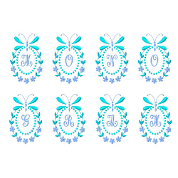 Monograms 50 embroidery font