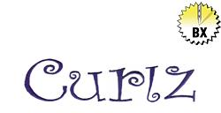 Curlz 1.50in embroidery font