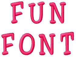 Fun Alphabet embroidery font