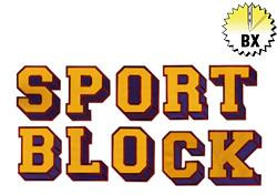 Sport Block 4.91in embroidery font