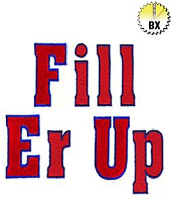 Fill Er up 2.30in embroidery font