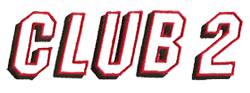 Club 2 embroidery font