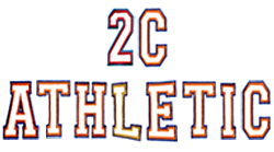 2C Athletic embroidery font