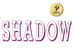 Shadow embroidery font