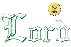 Lord embroidery font