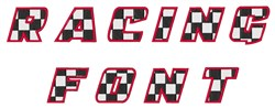 racing font by great notions home format fonts on