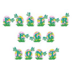 Easter Egg Font embroidery font