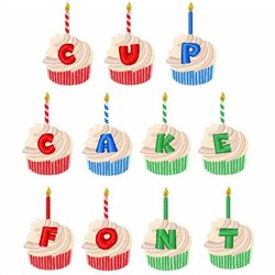 Cupcake Font embroidery font