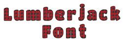 Lumberjack Font embroidery font