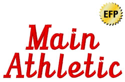 Main Athletic embroidery font