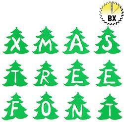 Monogram Christmas Tree by King Graphics Embrilliance ...