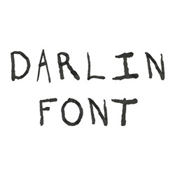 Darlin Font embroidery font