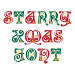 Starry Christmas Font embroidery font