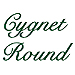 Cygnet Round embroidery font