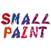 Small Paint embroidery font