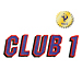 Club 1 embroidery font