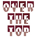 Over The Top embroidery font