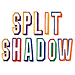 Split Shadow embroidery font