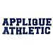 Athletic Applique embroidery font
