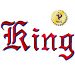 King embroidery font