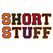 Short Stuff embroidery font