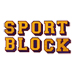 Sport Block embroidery font