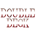 Double Deck embroidery font