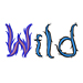 Wild embroidery font