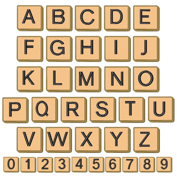 Letters Scrabble Number