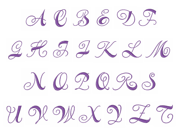 Curly monogram font by embroidery patterns home format fonts on curly monogram font embroidery font spiritdancerdesigns Choice Image