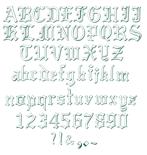 Direct Download Link 1400 Fonts Pack