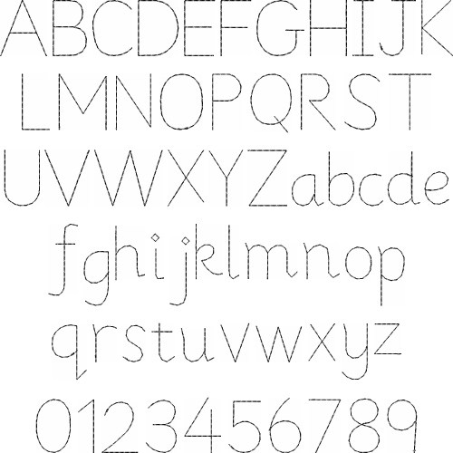 Faux Hand Font By Great Notions Home Format Fonts On