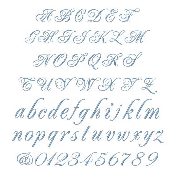 WEDDING SCRIPT By Great Notions Home Format Fonts On