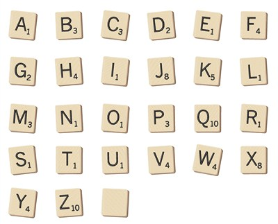 Letter Word Using Ground