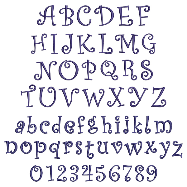 Curly font by kinship kreations home format fonts on curly font embroidery font thecheapjerseys Images