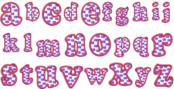 Polka Dot By Machine Embroidery Designs Home Format Fonts On