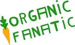 Organic Fanatic Carrot print art